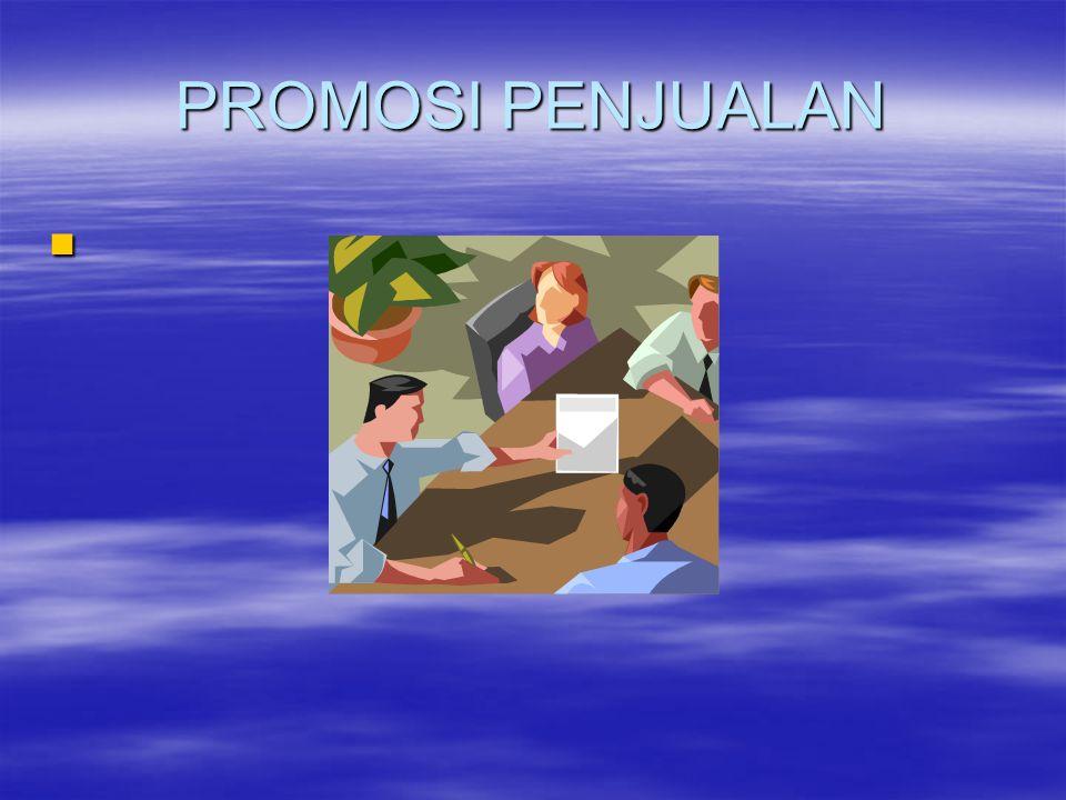 PROMOSI PENJUALAN 