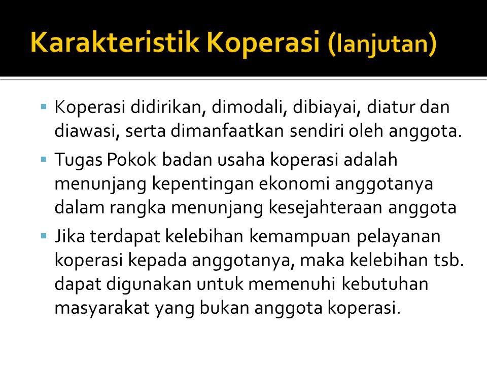  Menurut Pasal 3 UU No.25 tahun 1992 1. Untuk memajukan kesejahteraan anggotanya 2.