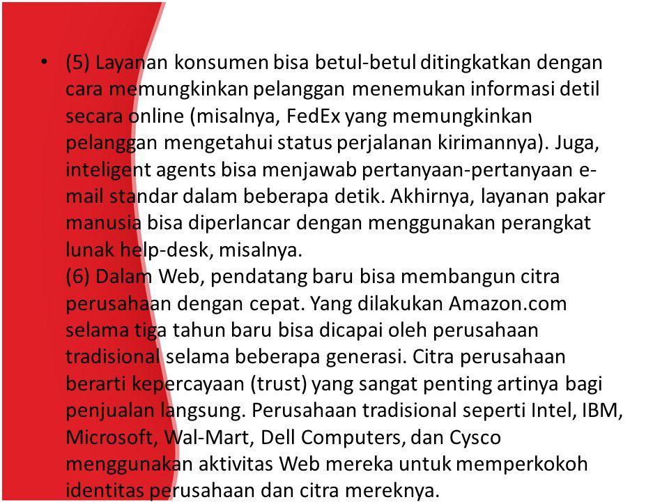 Contoh-contoh marketplace di internet adalah sebagai berikut: Lelang2000.com Lelang2000.com adalah marketplace Indonesia dan berbahasa Indonesia dimana para penjual dan pembeli dapat saling tawar- menawar untuk beragam jenis barang atau produk seperti: handphone, komputer, atau jenis lainnya.