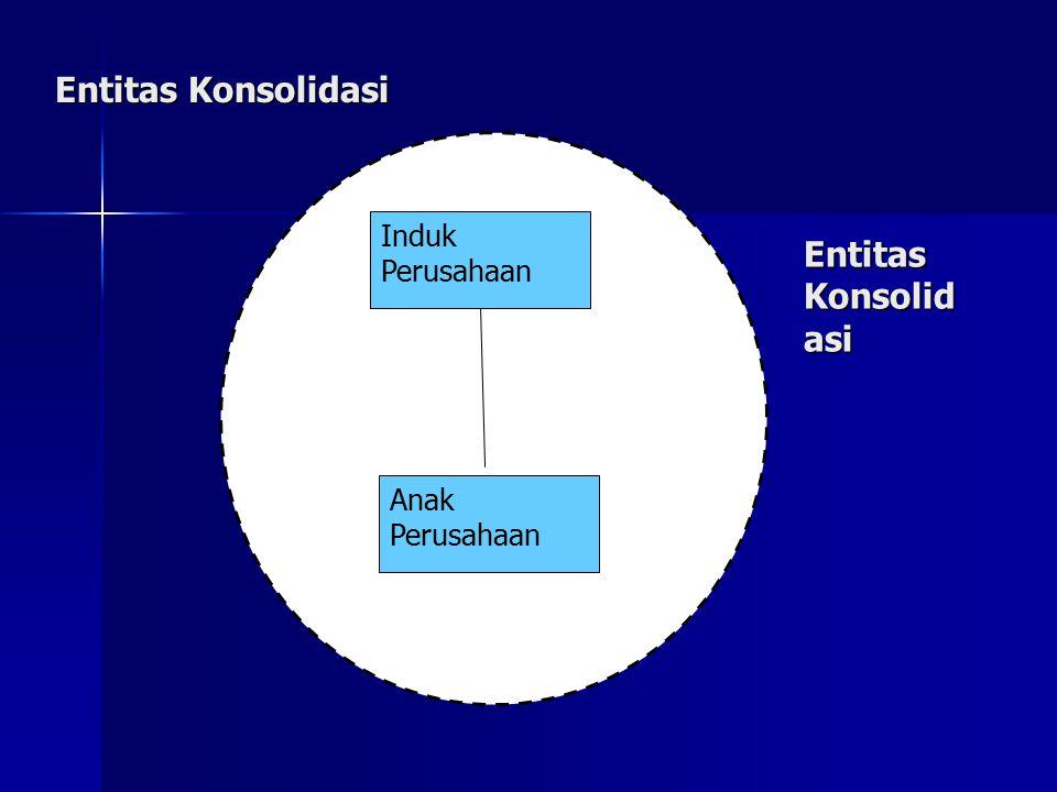 Pada contoh di atas, beberapa hal perlu mendpt perhatian khusus utk memastikan bahwa LK konsolidasi menampilkan seolah-olah LK tsb adalah LK dari perusahaan tunggal.