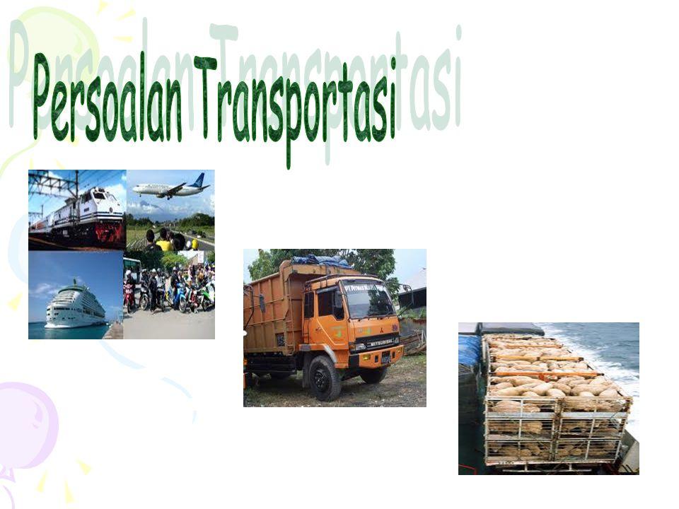 Model Transportasi : (1).