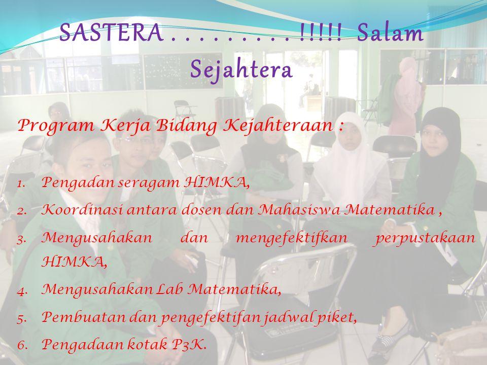 Profile Singkat Sejahterawan HIMKA 2010 – 2011