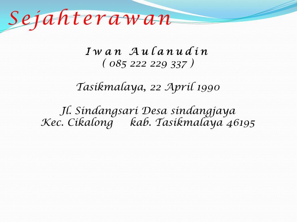 Lita Lestari ( 085 224 569 800 ) Cirebon, 11 Juli 1991 Jl.