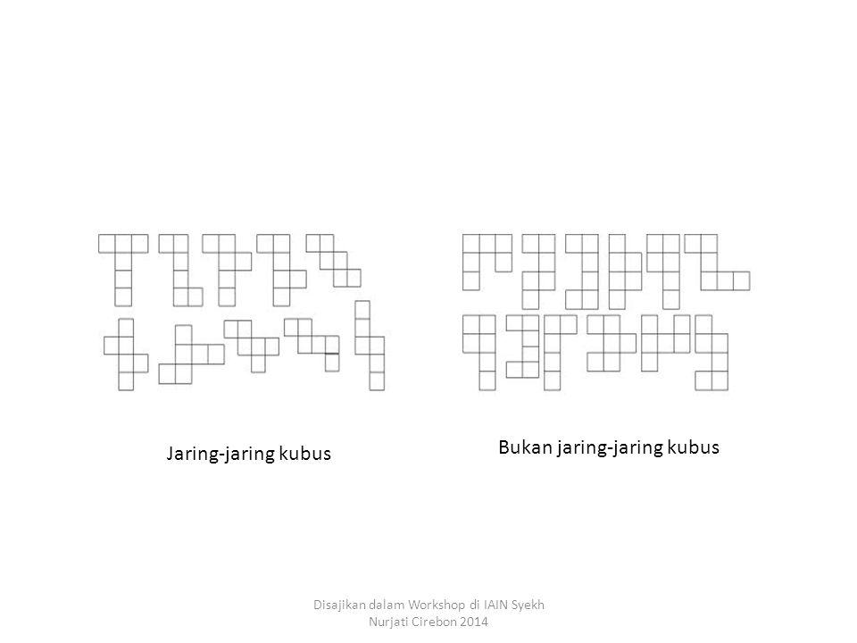 Jaring-jaring kubus Bukan jaring-jaring kubus Disajikan dalam Workshop di IAIN Syekh Nurjati Cirebon 2014