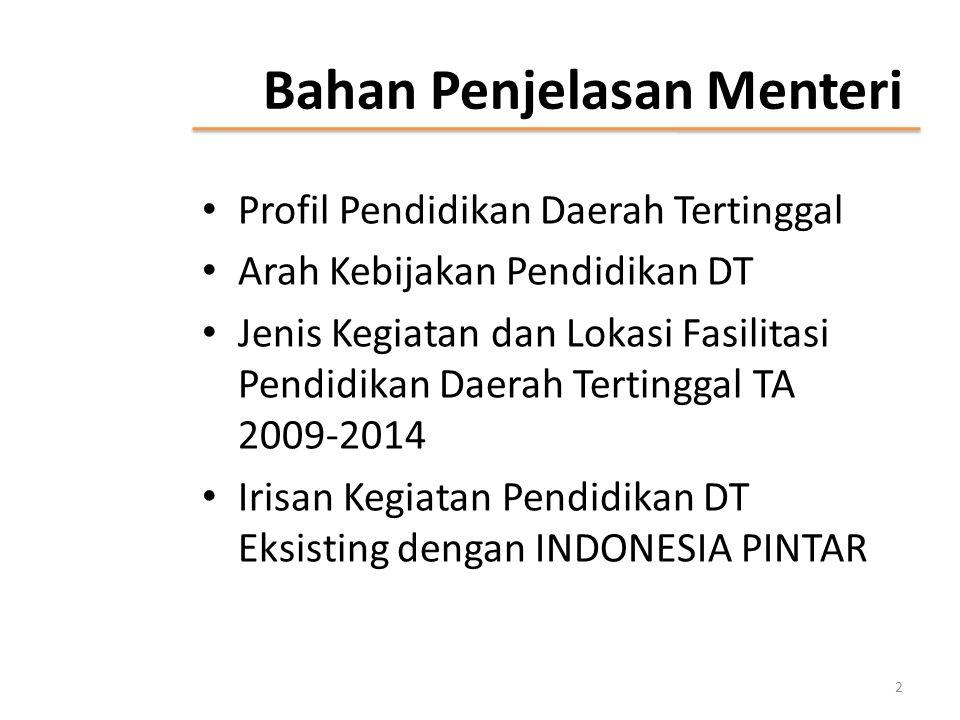 PROFIL PENDIDIKAN DAERAH TERTINGGAL 3