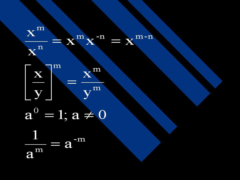 Fungsi bulat Fungsi bulat adalah suatu fungsi rasional dengan Q(x) = konstan. f (x) = anxn + an-1xn-1 + an-2xn-2+...+ a1x + a0 am. an =am+n [am]n= amn