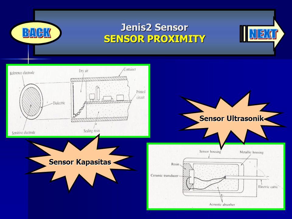 Sensor Ultrasonik Sensor Kapasitas