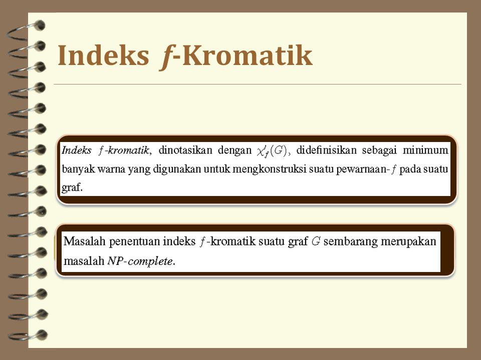 Indeks f-Kromatik
