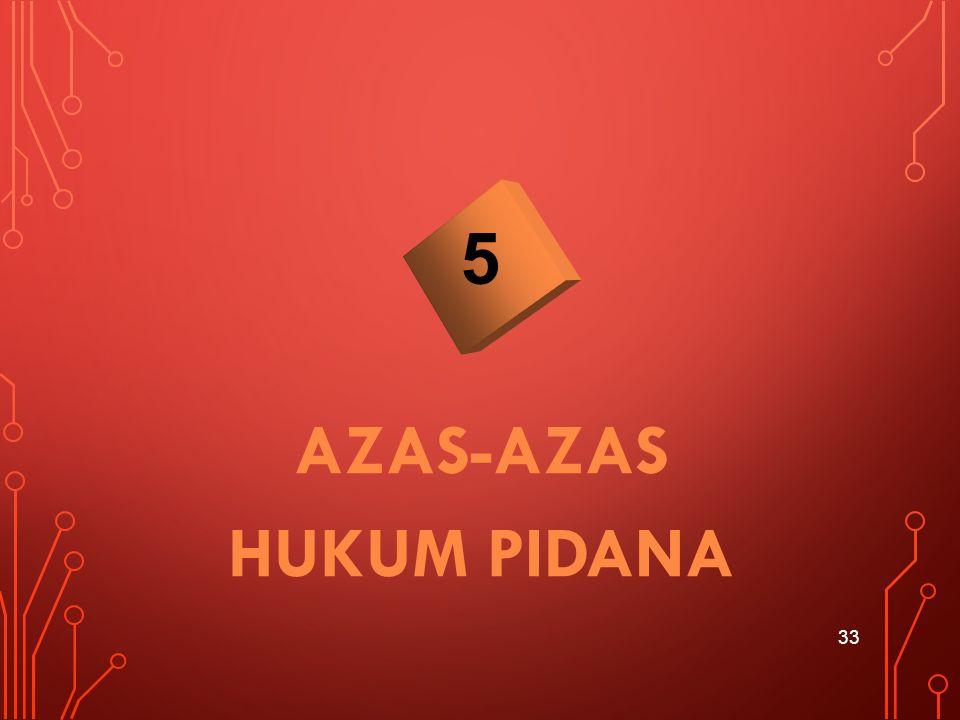 AZAS-AZAS HUKUM PIDANA 33 5