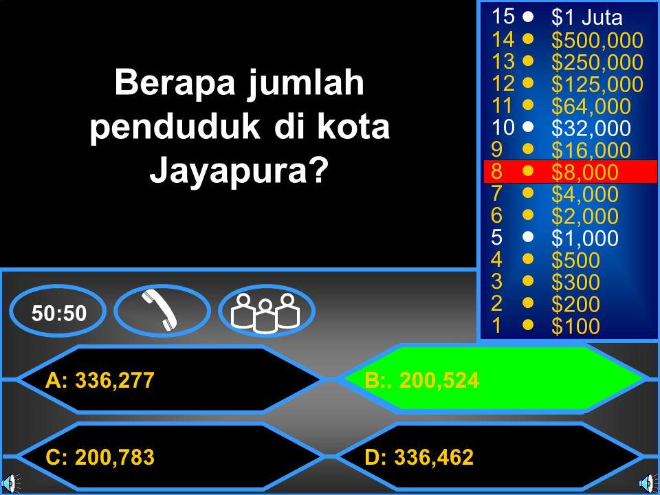 A: 336,277 C: 200,783 B:.