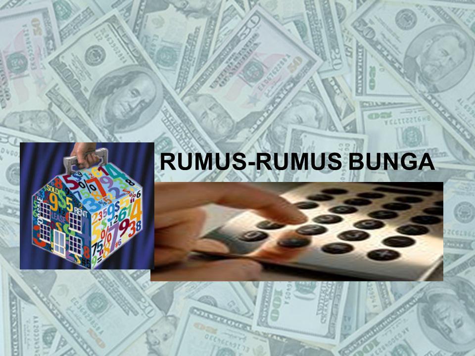 RUMUS-RUMUS BUNGA