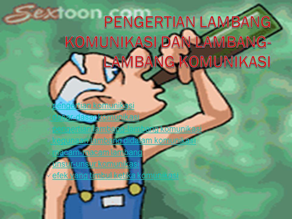 Komunikasi adalah penyampaian atau penerimaan informasi dari satu pihak kepada pihak lain yang dilakukan oleh dua orang atau lebih
