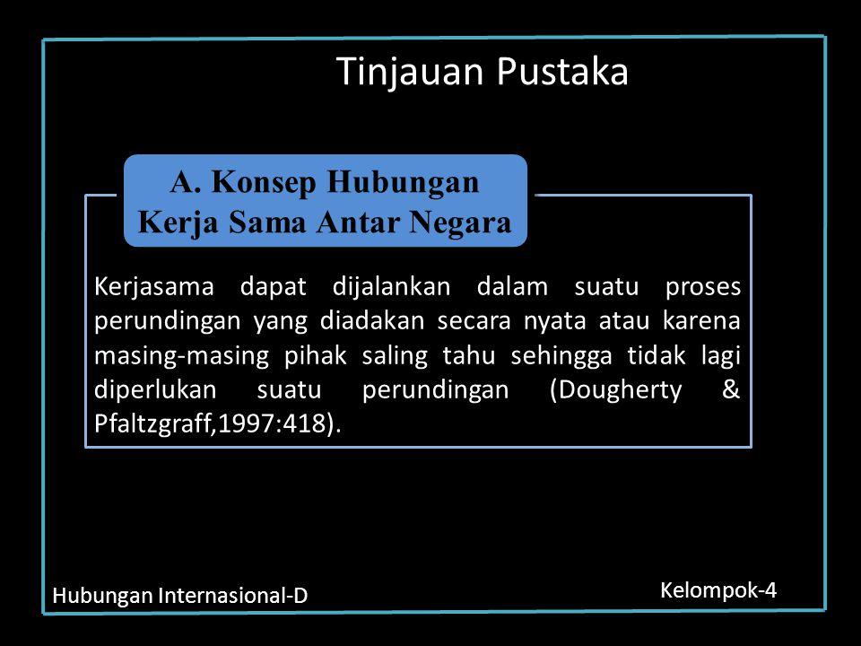Hubungan Internasional-D Kelompok-4 Lanjutan… Pascoe Pacoe menjelaskan bahwa Amerika siap membantu Indonesia dalam mengimplementasikan kebijakannya terutama dalam proses penegakan demokrasi dan pembangunan ekonomi Soemadi menegaskan bahwa hubungan Indonesia dengan Amerika sangat solid.