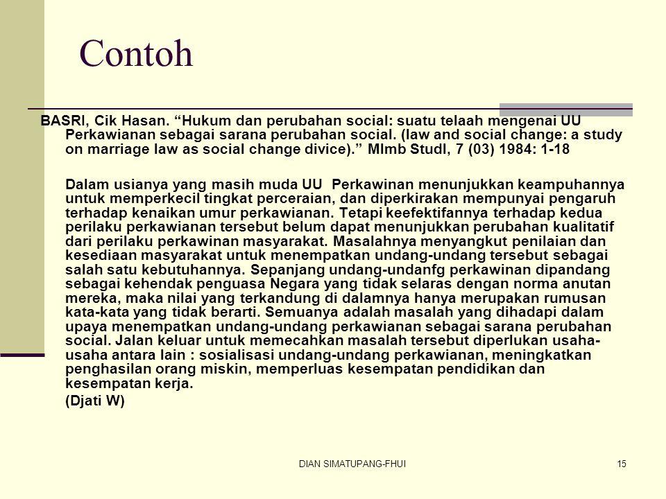 DIAN SIMATUPANG-FHUI15 Contoh BASRI, Cik Hasan.