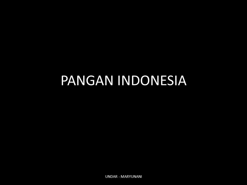 PANGAN INDONESIA UNDAR - MARYUNANI