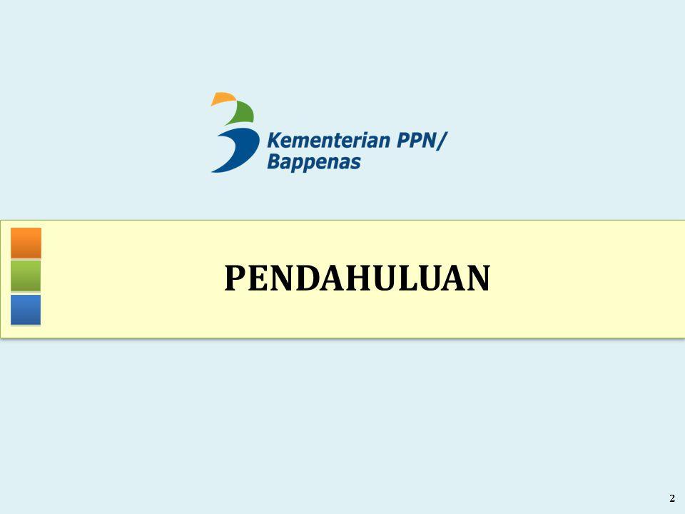 Visi Pembangunan 2005-2025 INDONESIA YANG MANDIRI, MAJU, ADIL DAN MAKMUR RPJMN 2015-2019 DALAM KERANGKA RPJPN 2005-2025 (UU 17 TAHUN 2007) Slide - 3