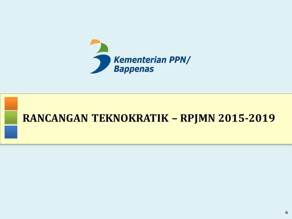RANCANGAN TEKNOKRATIK – RPJMN 2015-2019 6