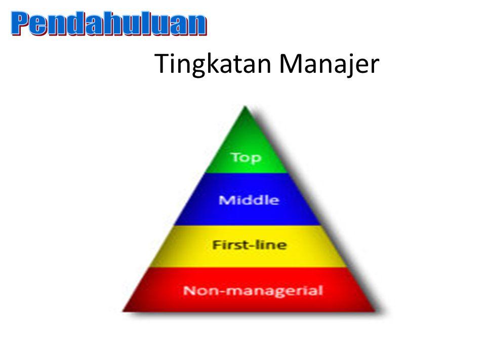 Tingkatan Manajer