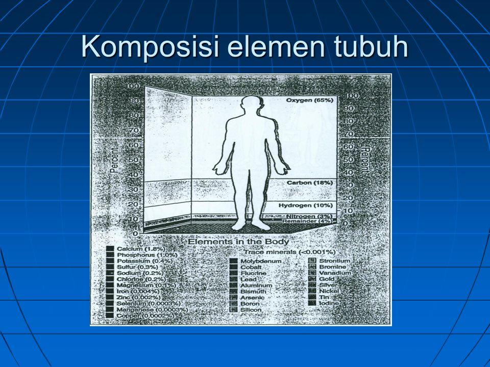 Komposisi elemen tubuh