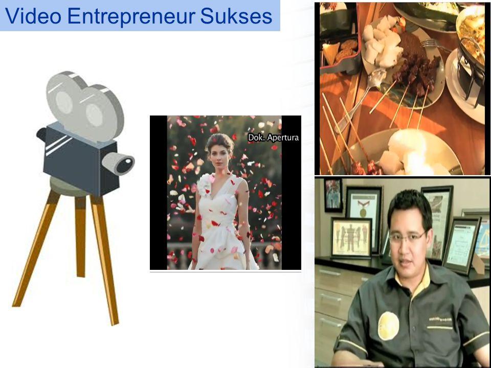Karakteristik Entrepreneur Sukses 1.Komitmen total, determinasi dan keuletan hati.
