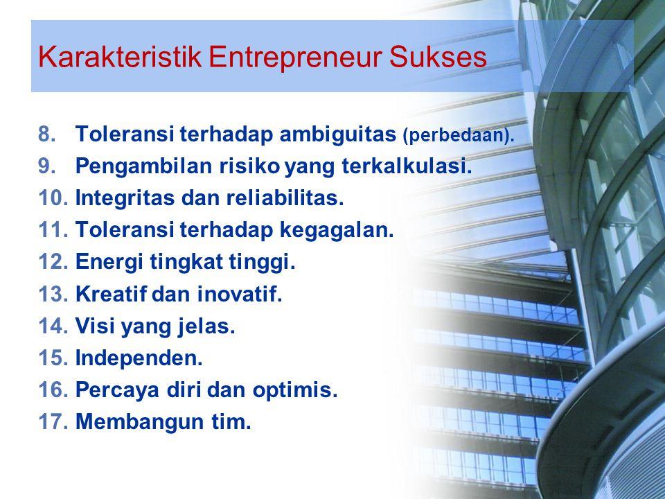 Keuntungan Menjadi Entrepreneur Peluang menentukan nasib sendiri.