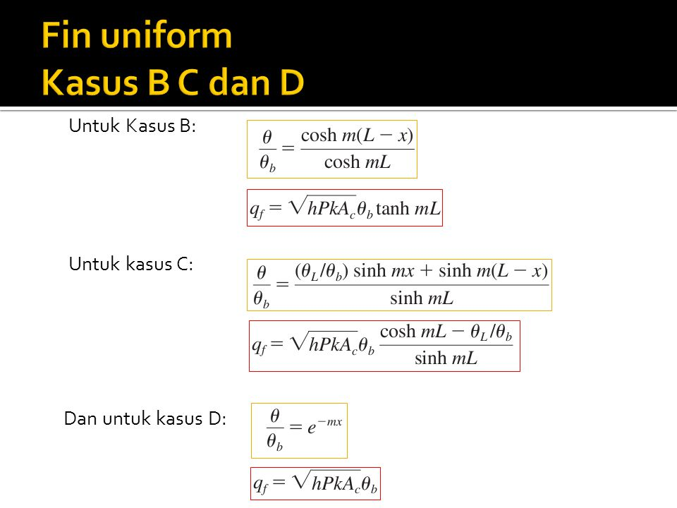 Untuk Kasus B: Dan untuk kasus D: Untuk kasus C: