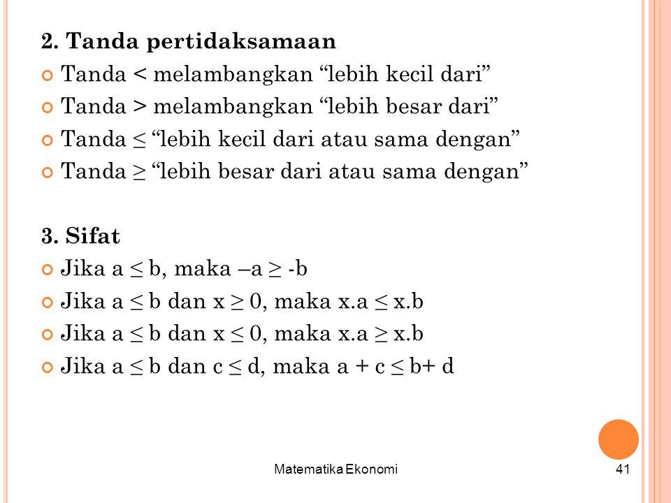 Matematika Ekonomi41 2.