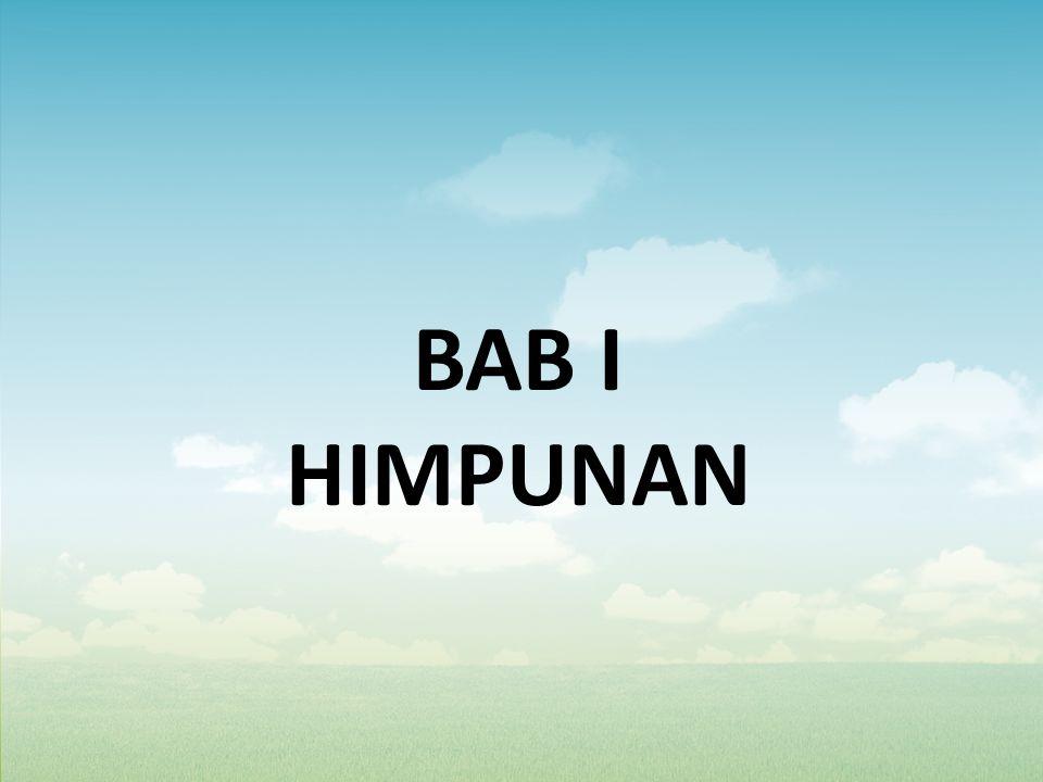 BAB I HIMPUNAN