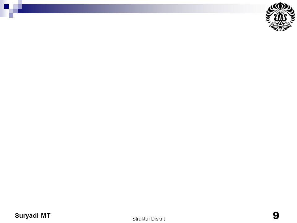 Suryadi MT Struktur Diskrit 9
