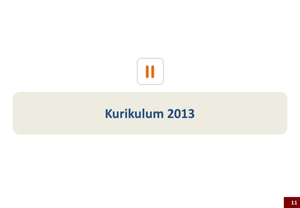 Kurikulum 2013 II 11