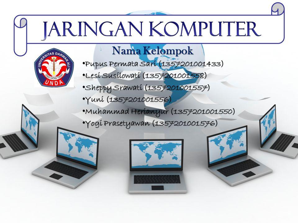 Pengertian Jaringan Komputer Pengertian dari jaringan komputer itu sendiri adalah sebuah jaringan dimana di dalamnya terdapat beberapa perangkat komputer yang saling terhubung satu sama lain.