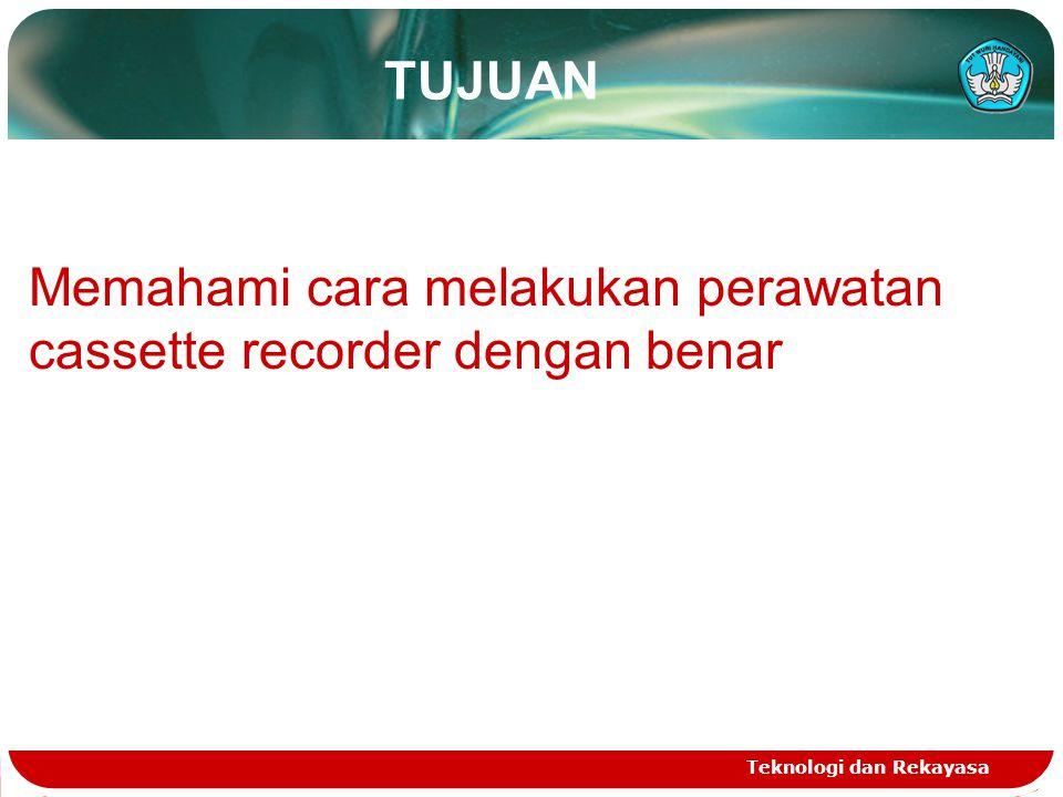 Teknologi dan Rekayasa HARYONO PRIYADI SMK Muhammadiyah 3 Yogyakarta 1.