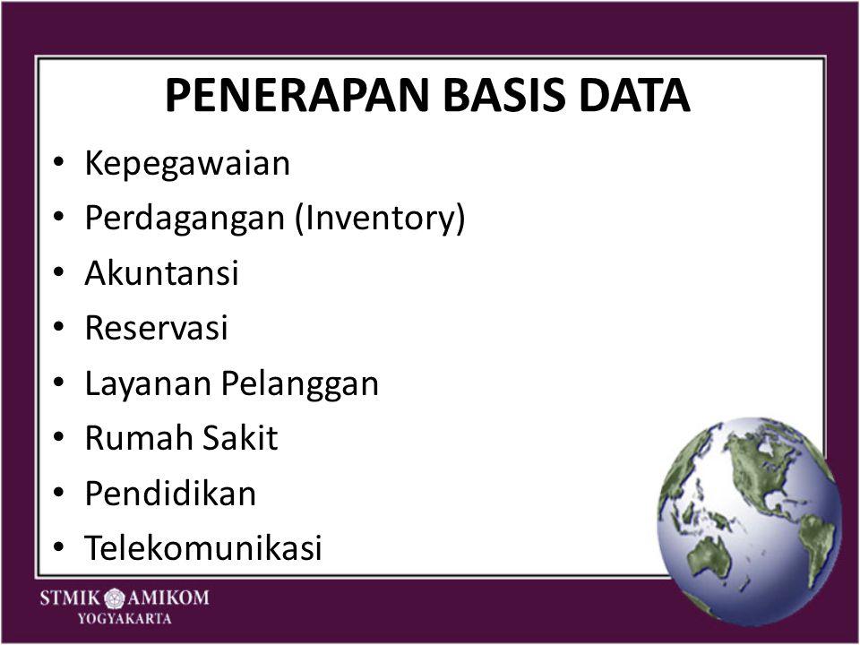 Referensi http://www.docstoc.com/docs/14748816/BAS IS-DATA-dan-KOMPONEN-BASIS-DATA http://www.docstoc.com/docs/14748816/BAS IS-DATA-dan-KOMPONEN-BASIS-DATA