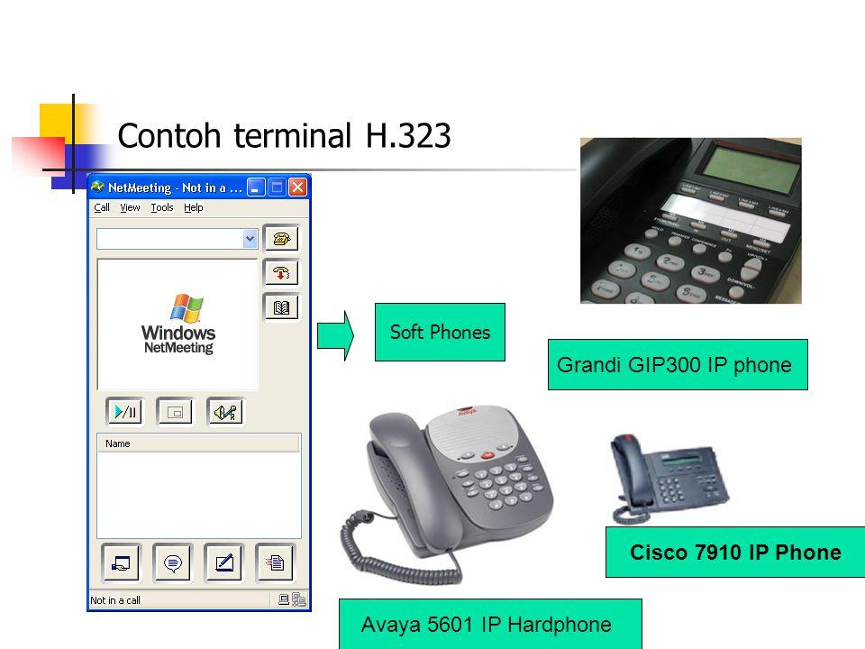 Gateway menghubungkan dua buah jaringan yang berbeda yaitu jaringan H.323 dan jaringan non H.323 Kemampuan koneksi dengan jaringan yang berbeda dilakukan dengan cara menerjemahkan protokol untuk call setup dan release, mengubah format media antara jaringan yang berbeda dan memindahkan informasi antar jaringan yang terhubung dengan gateway.