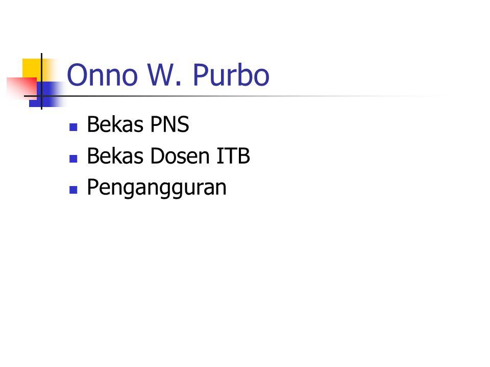 Aset Onno … Pengetahuan di kepala Teman di jaringan..