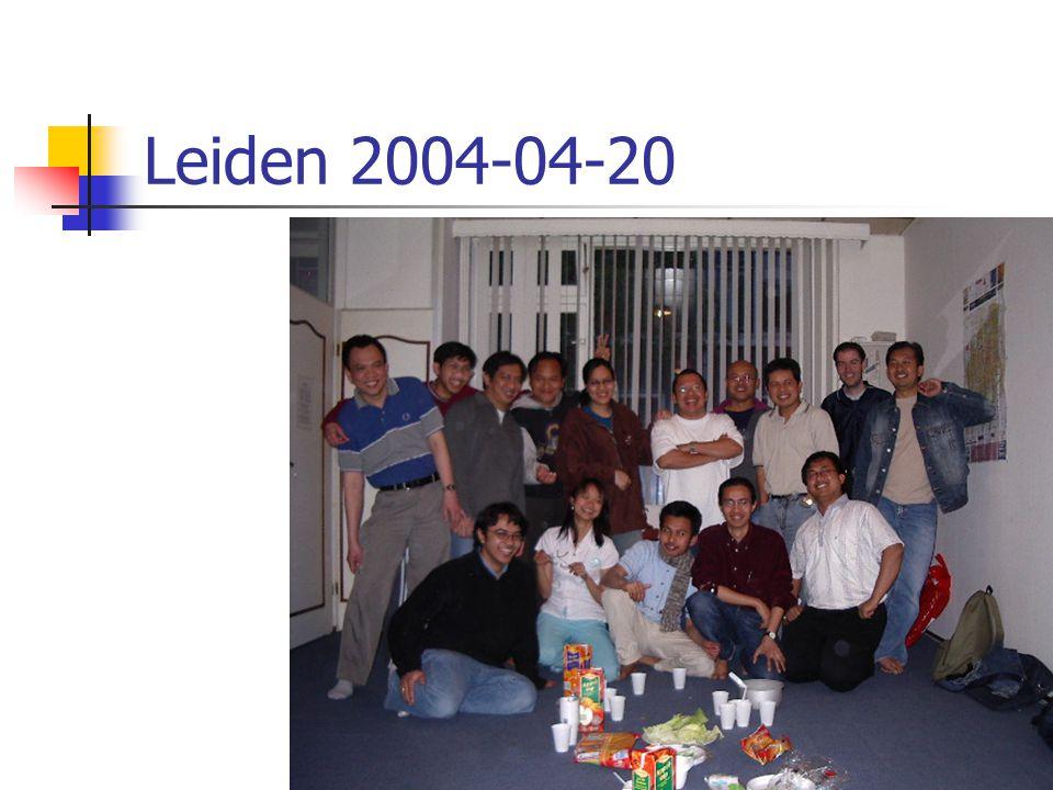 Leiden 2004-04-20