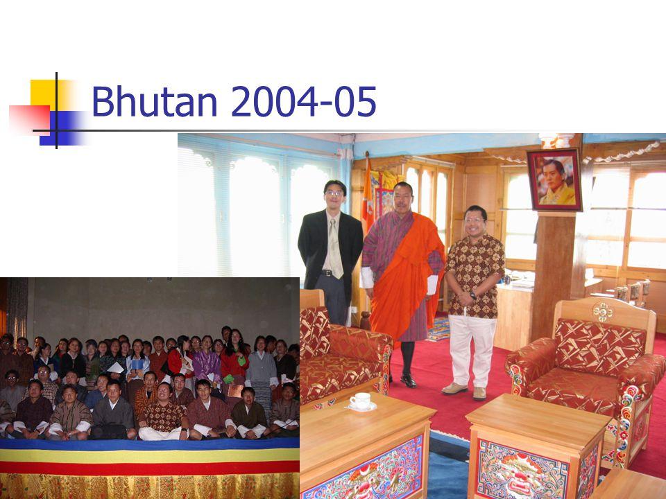 Bhutan 2004-05