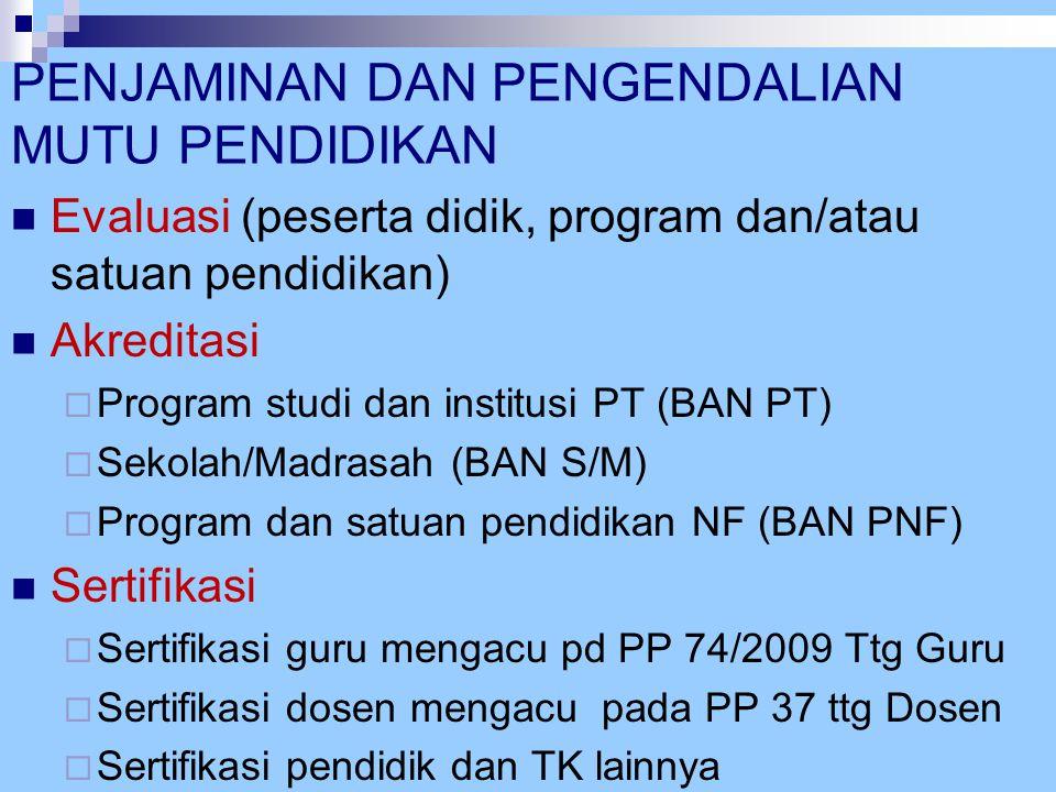 PERMEN TTG STANDAR PROSES Standar Proses Perndidikan Formal Umum (SD, SMP, SMA, SMK) ditetapkan dengan Permen Nomor 41 Tahun 2007.