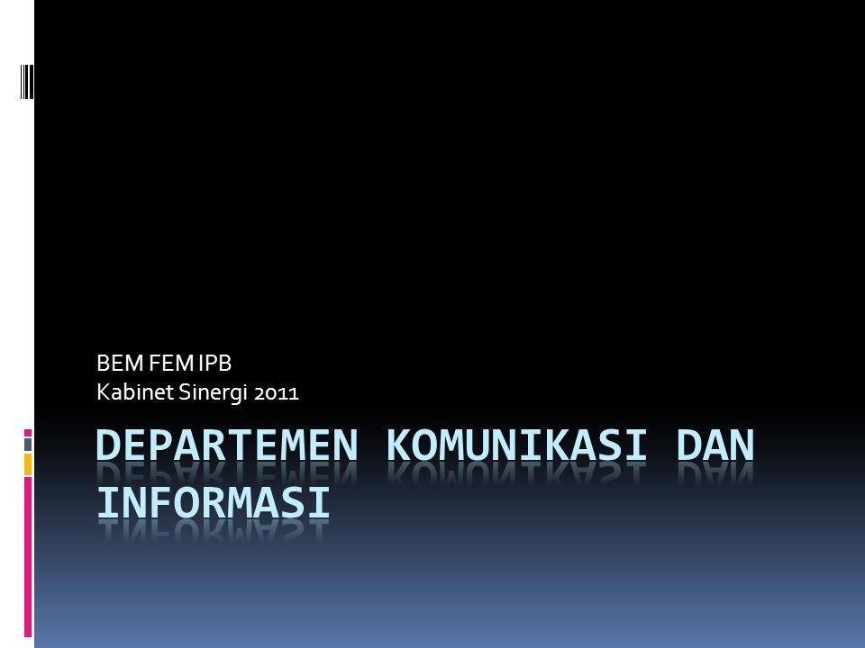 BEM FEM IPB Kabinet Sinergi 2011