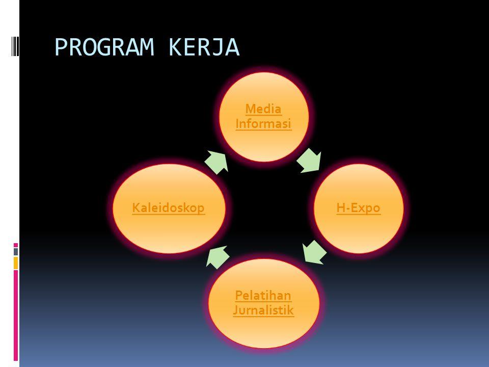 PROGRAM KERJA Media Informasi H-Expo Pelatihan Jurnalistik Kaleidoskop