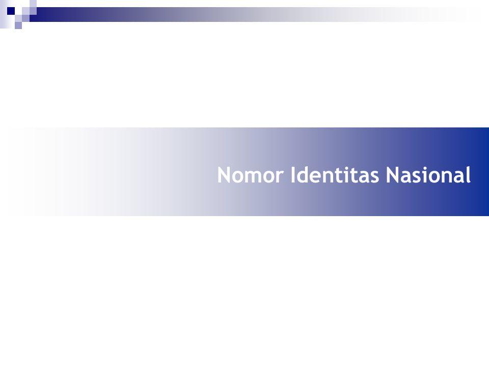 Nomor Identitas Nasional
