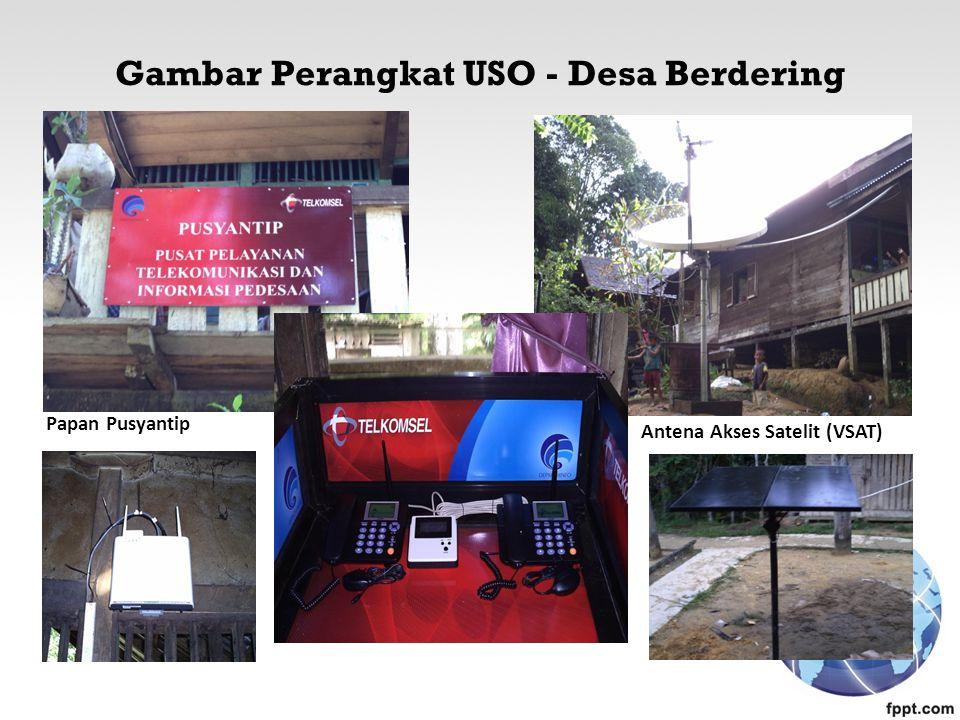 Gambar Perangkat USO - Desa Berdering Papan Pusyantip Antena Akses Satelit (VSAT)