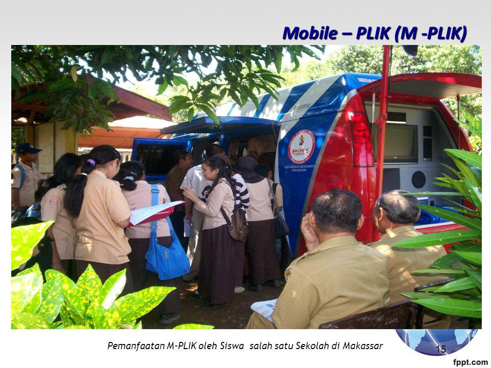 Pemanfaatan M-PLIK oleh Siswa salah satu Sekolah di Makassar Mobile – PLIK (M -PLIK) 15