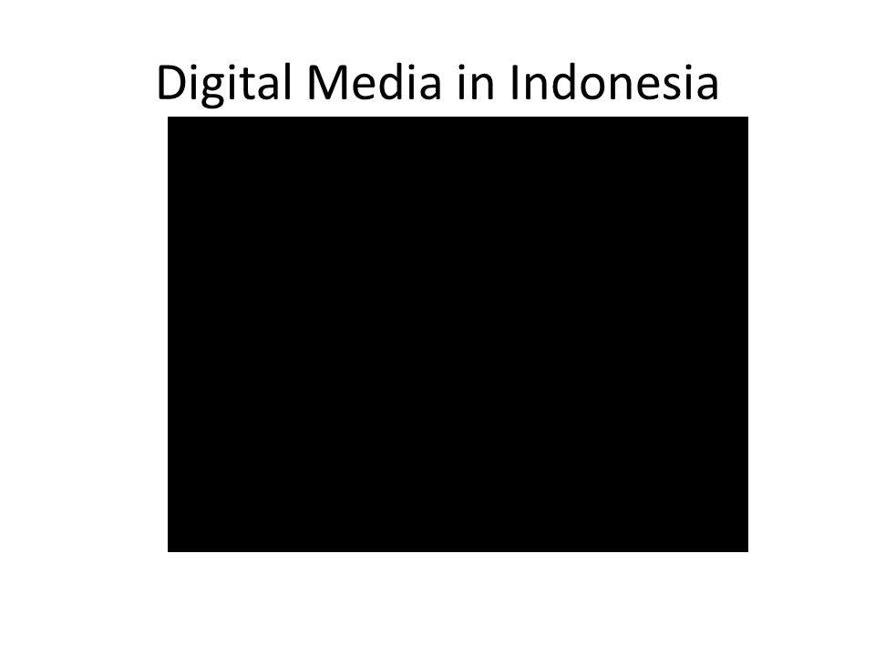 Digital Media in Indonesia