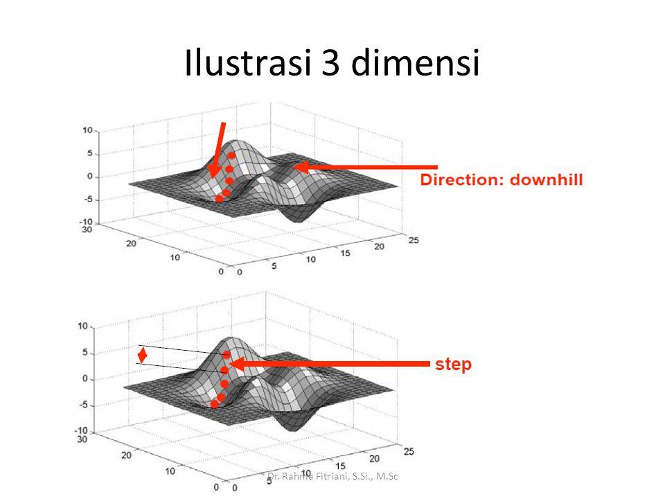 Ilustrasi 3 Dimensi Dr. Rahma Fitriani, S.Si., M.Sc
