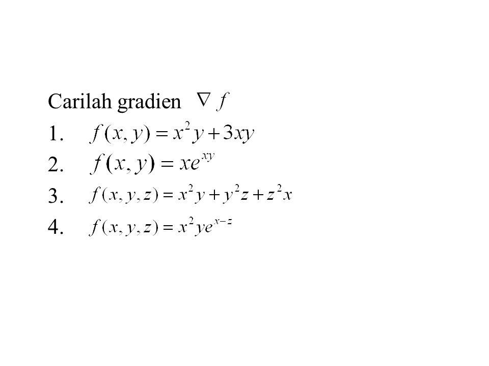 Teorema Untuk memaksimumkan atau meminimumkan terhadap kendala, diselesaikan dengan sistem persamaan dan Tiap titik p adalah suatu titik kritis untuk masalah nilai ekstrim terkendala disebut pengali Lagrange