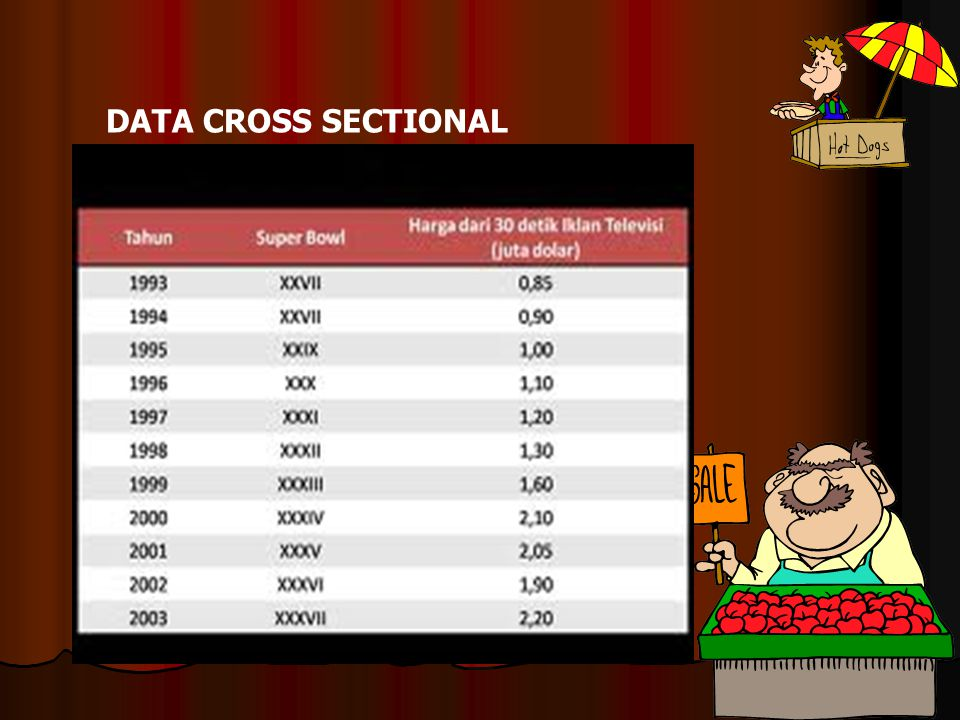 DATA CROSS SECTIONAL
