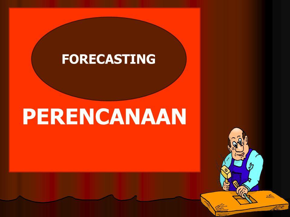 PERENCANAAN FORECASTING