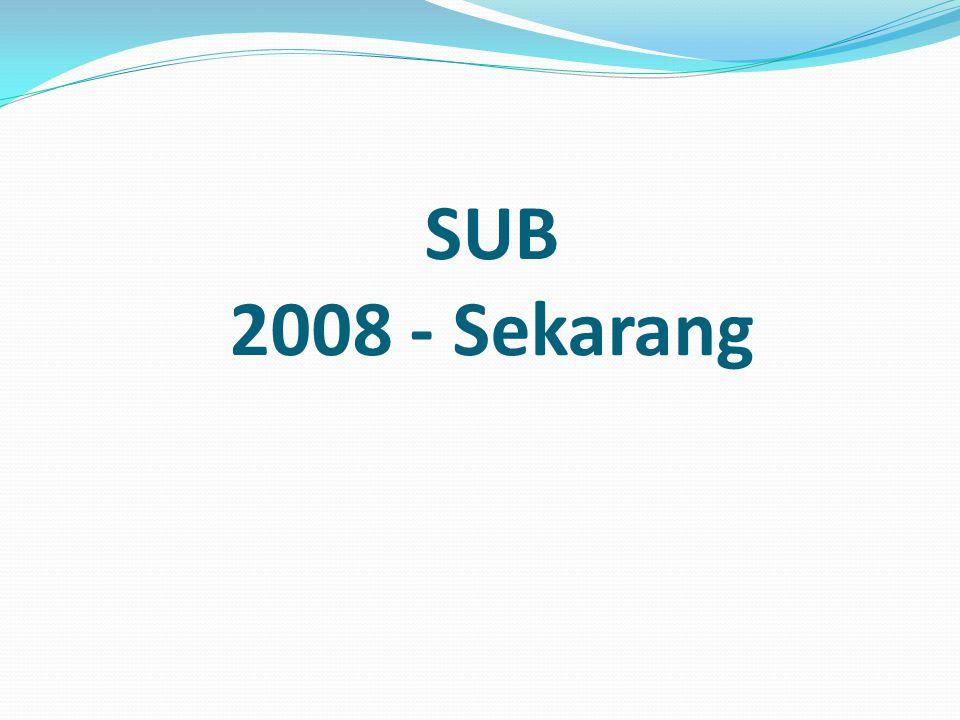 SUB 2008 - Sekarang