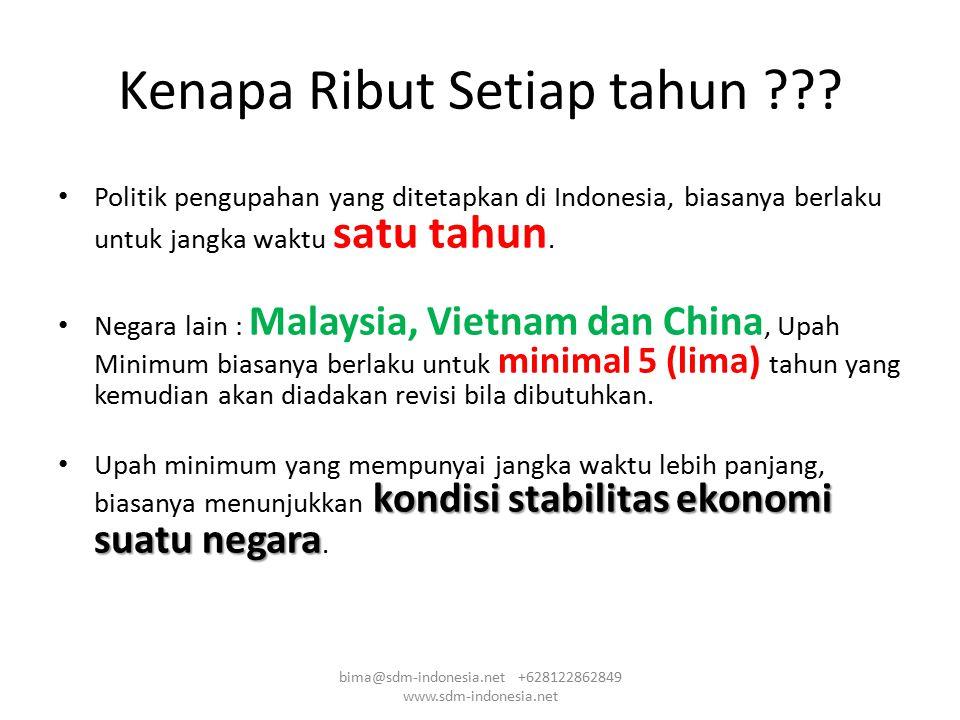 Scattergram berdasarkan data survey upah Point Value Scale Abaikan yang jauh dari garis bima@sdm-indonesia.net +628122862849 www.sdm-indonesia.net